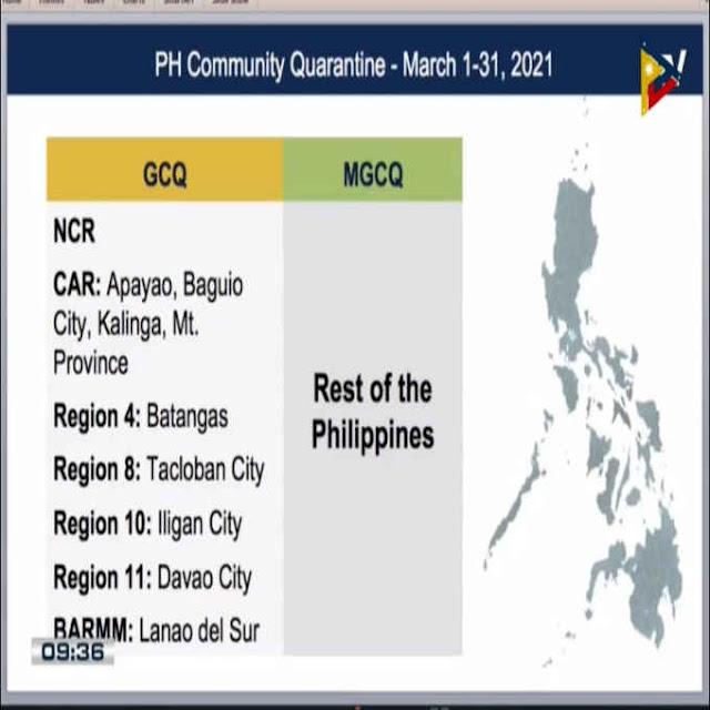 bagong quarantine classifications