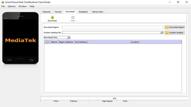 Descargar SP Flash Tool v5.1512