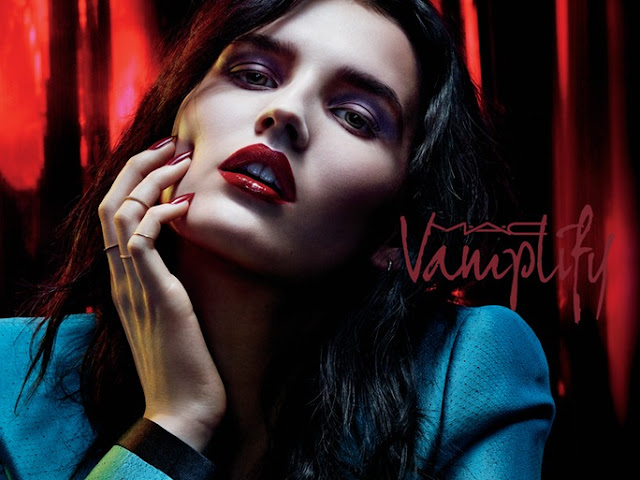 MAC launches new line of glosses: Vamplify