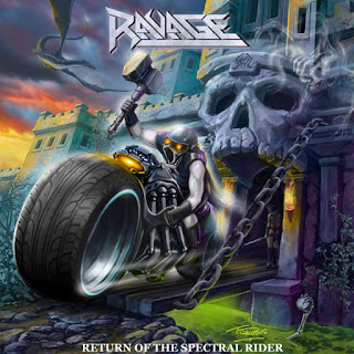 "Ravage - ""Turn The Screw"" (lyric video) from the album ""Return of the Spectral Rider"""