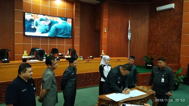 DPRD Kota Depok Gelar Rapat Paripurna Laporan KUA Dan PPAS