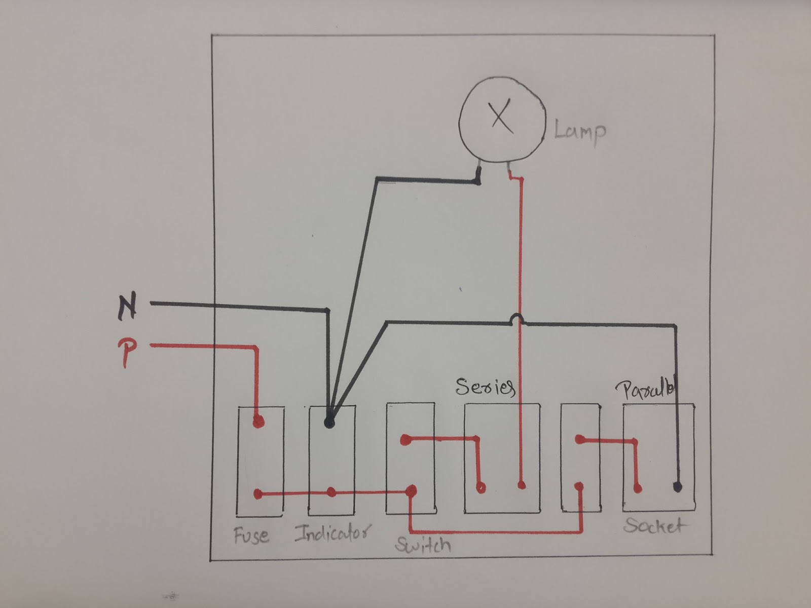 How To Make Series Parallel Electrical Testing Board  In Hindi