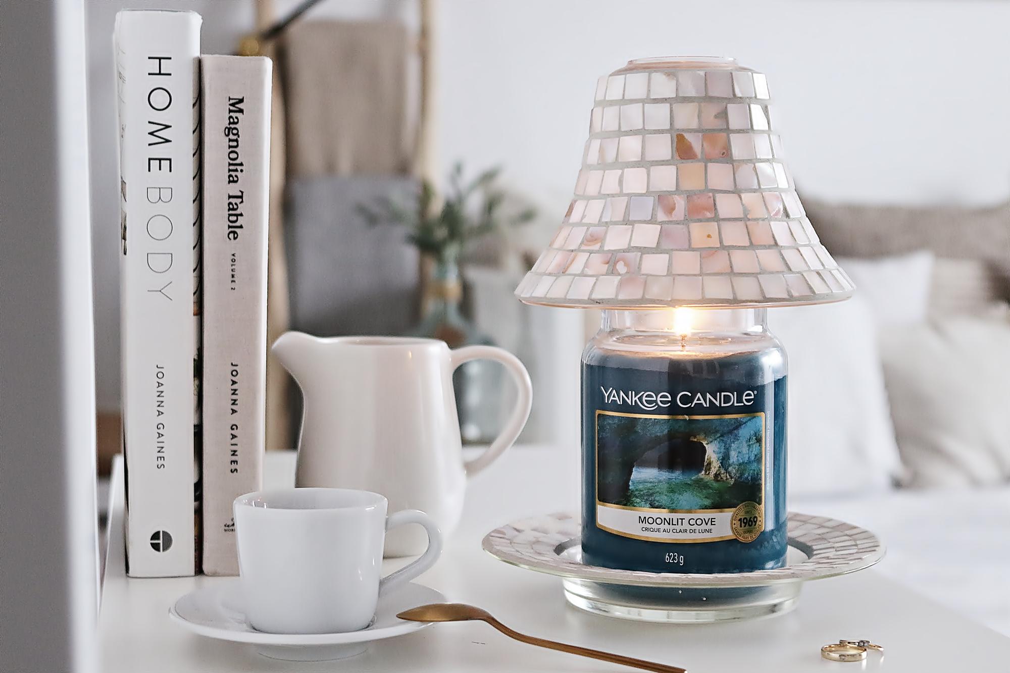Moonlit Cove Yankee Candle - coś dla miłośniczek męskich zapachów