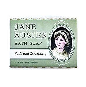 Bath soap / Jane Austen / Suds and sensibility / Insolite / Produits dérivés Jane Austen