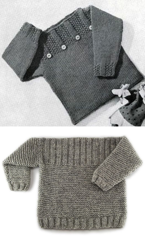 Pullover Free Knitting Pattern