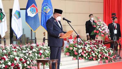 Gubernur Olly Lantik 5 Kepala Daerah di Sulut