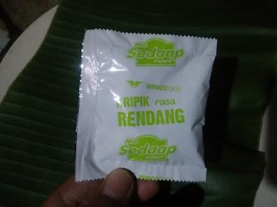Mie Sedaap Salero Padang dari Wings Food