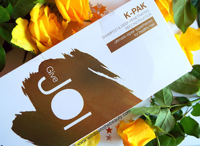 joico K-Pak Reconstruct Shampoo & Deep Penetrating Reconstructor Gift Set