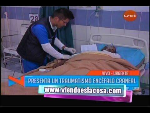 AGREDEN AL PADRE DE NIÑA ABIGAIL EN PENAL DE SAN PEDRO. PRESENTA TEC SEVERO Y POLITRAUMATISMO