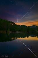 #29. 26 lipca, z przelotem ISS. Credit: Juan Carlos Casado (Boadella, Hiszpania)