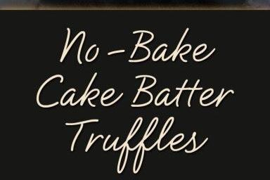 No-Bake Cake Batter