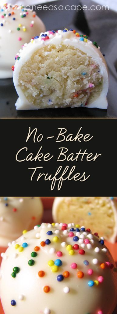 No-Bake Cake Batter