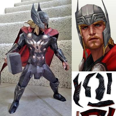 Thor Bastelbogen