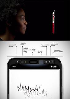 Google upcoming Pixel 4 Smartphone built-in radar technology to face unlock