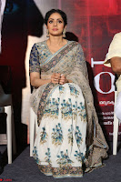 Sri Devi in designer saree stunning beauty at the launch of MOM movie Trailer~  Exclusive 011.JPG