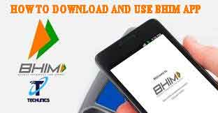 Bhim app download and use for android mobile