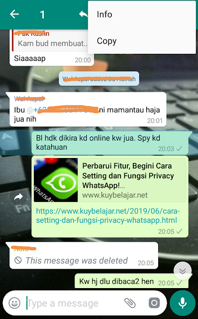Stalking silent reader whatsapp