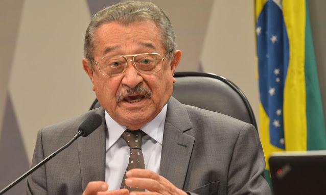 Morre José Maranhão aos 87 anos, segundo senador vítima da covid-19
