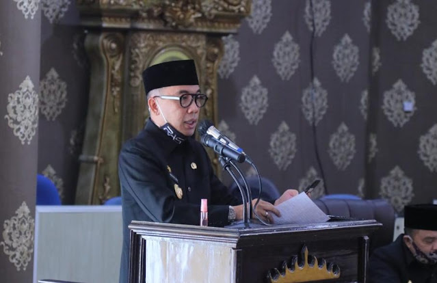 Paripurna DPRD Way Kanan: Rekomendasi Penyampaian LKPJ tahun 2019 Bupati Way Kanan