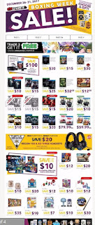 EB Games Flyer Boxing Week Sale December 24 - 31, 2017