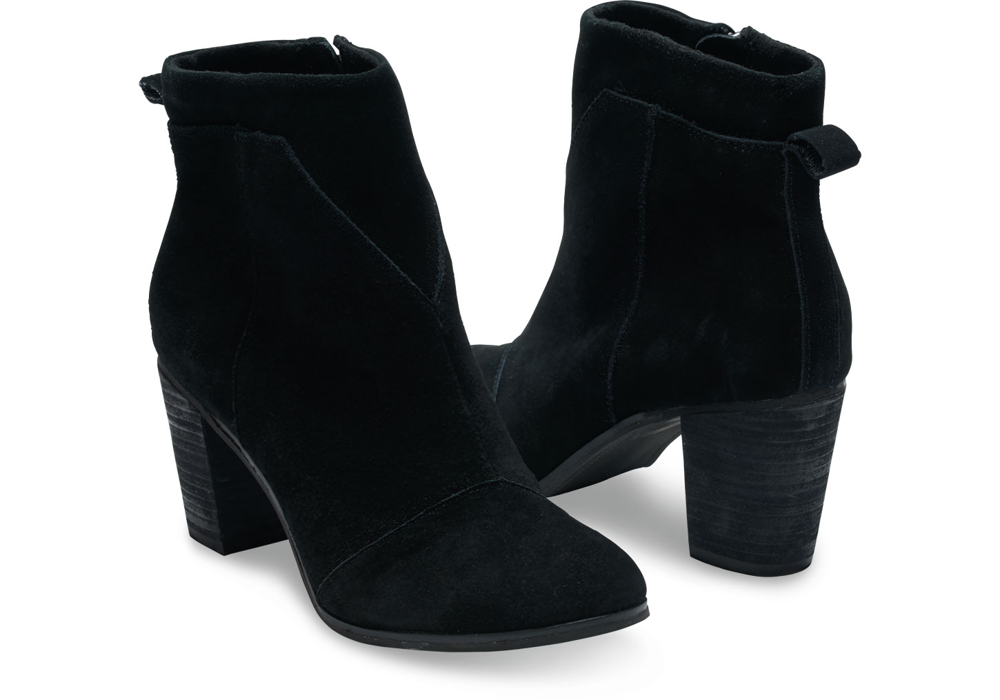 How to wear black suede booties