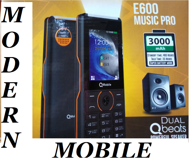 Qmobile E600 MUSIC PRO firmware/flash file  MTK  6261 100% tested ok flash file free download