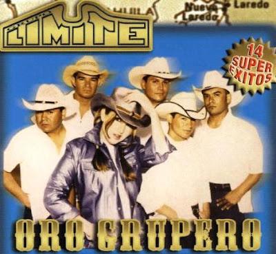 Foto del grupo Límite en portada de disco