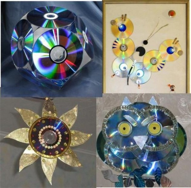 Art Projects Old Cd S Art Crafts Ideas