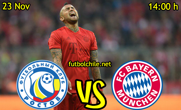 Ver stream hd youtube facebook movil android ios iphone table ipad windows mac linux resultado en vivo, online: Rostov vs Bayern Munich