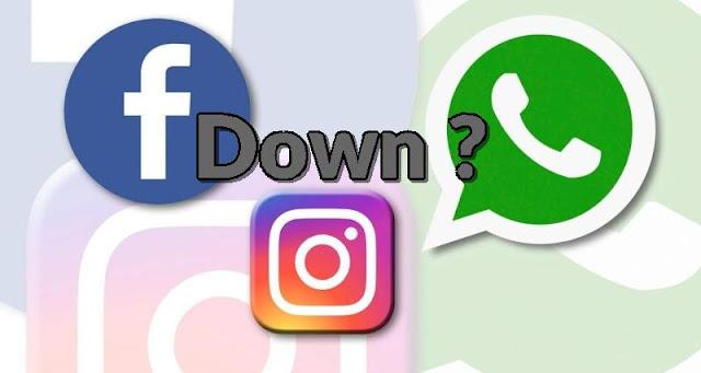 Facebook down, whatsapp down, instagram down - qasimtricks.com