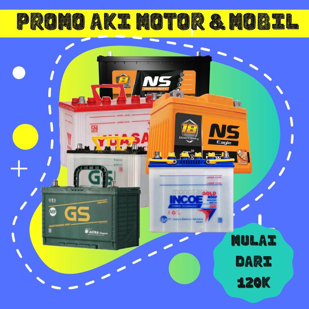 Promo Aki Motor & Mobil Tangerang Murah