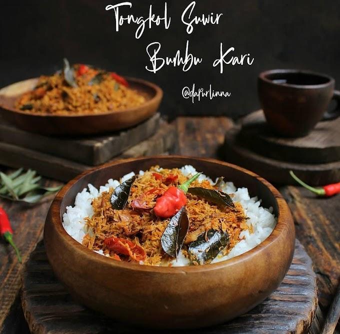 Resep Spesial Rumahan Tongkol Suwir Bumbu Kari
