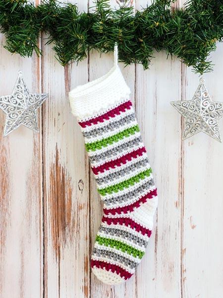 Free Christmas Stocking Crochet Patterns