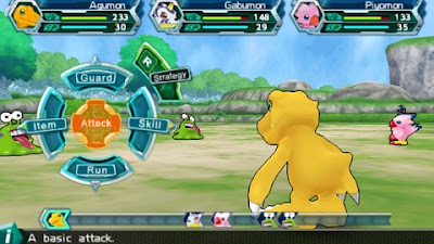 Game PSP RPG Digimon Adventure