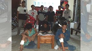 Timsus 3C Polres Lotim Borong Tiga Pencuri