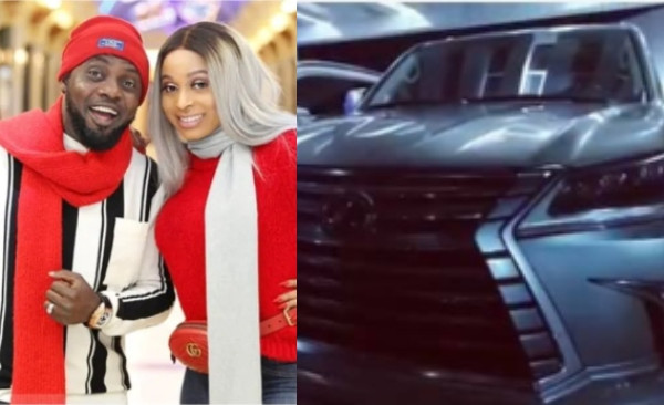 AY buys Brand New Cars for his wife, Mabel Makun and himself
