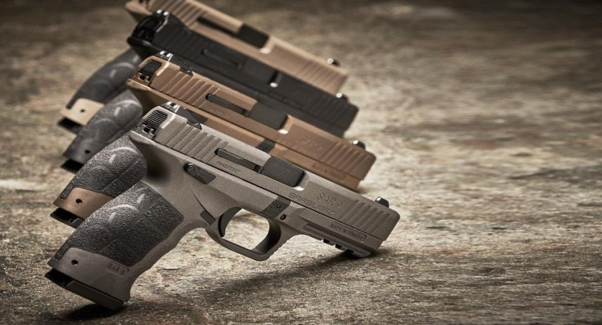 Укрспецекспорт імпортував 250 турецьких пістолетів SAR 9