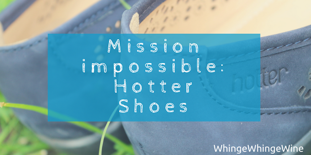 Mission impossible: Hotter Shoes precious review