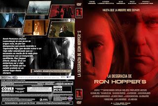 CARATULA LA DESGRACIA DE RON HOPPER´S - RON HOPPER´S MISFORTUNE 2020[COVER DVD]