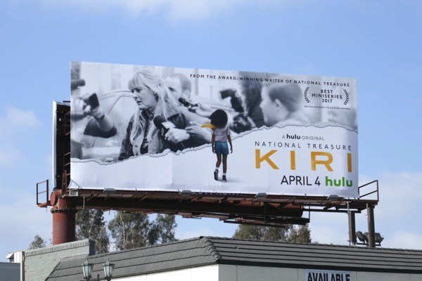 National Treasure Kiri billboard