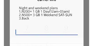 Glo Night And Weekend Data Plans