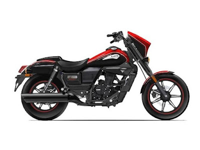 New 2016 UM Renegade Sport S Right side View Red