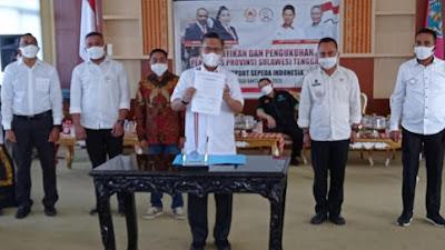 Wali Kota Kendari Dikukuhkan Jadi Ketua Umum Pengprov ISSI Sultra