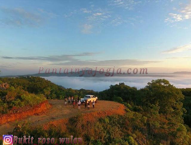 julur menuju bukit roso wulan panggang