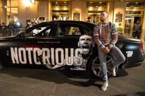 See UFC champion Conor McGregor's customized £280,000 Rolls-Royce (photos)
