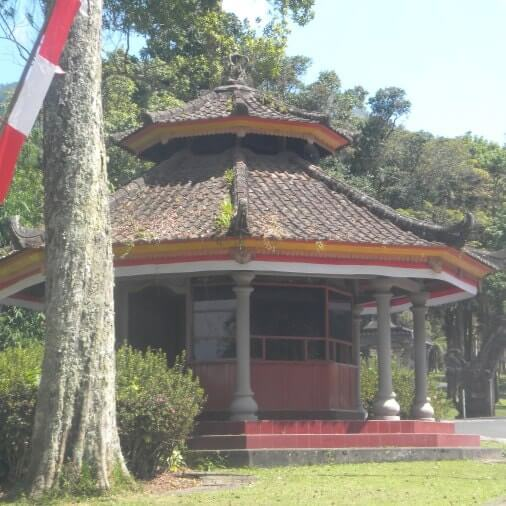 Awnings Gazebo - Bedugul Botanical Garden & Bali Treetop - Botanic Garden Conservation International Bali (BGCI) Indonesia