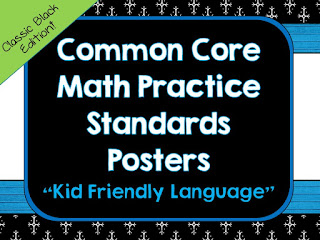 Teaching the standards for mathematical practice is so critical to help students become better at problem solving and to be better math thinkers and doers!  Math practices, math practices activities, math practices posters, math practices lessons