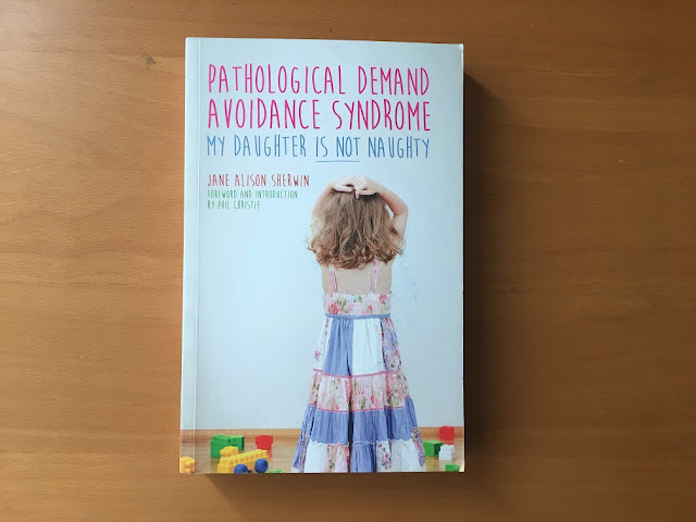pathological demand avoidance syndrome my daughter is not naughty book cover