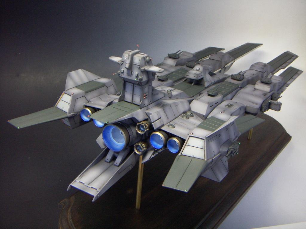 大光明株式會社: 日本玩家自製1:1200 雷比爾將軍號