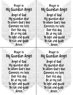 Click On Either Of The Images Below For A Four Per Page Printable Prayer To St Michael Archangel